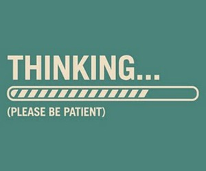 thinking, quote, and patient image