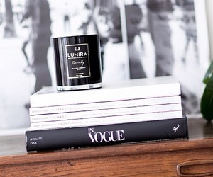 bedroom, candle, and chic image