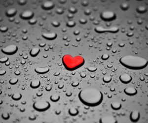 :), water, and love image