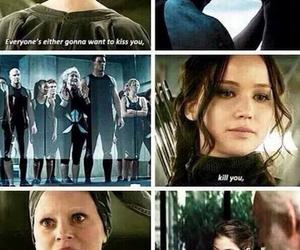 katniss everdeen, mockingjay, and hunger games image