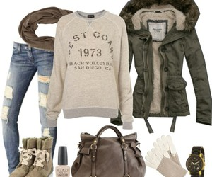 automne, fashion, and mode image