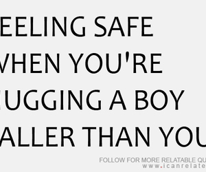 boy, hug, and quote image