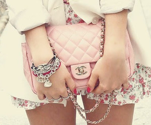 chanel, love, and pink image