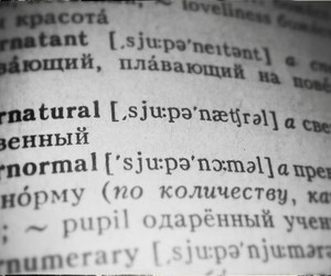 dictionary, supernatural, and spn image