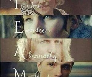 hunger games, katniss everdeen, and peeta mellark image