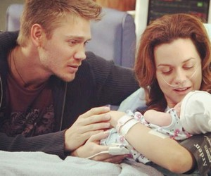 baby, lucas, and one tree hill image