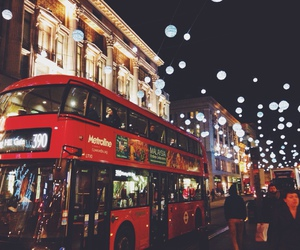 city, christmas, and london image