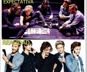 funny, 1d, and expectativa vs realidad image