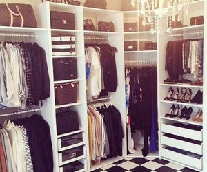 clothes, Dream, and closet image