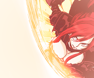 fight, red hair, and fairy tail image