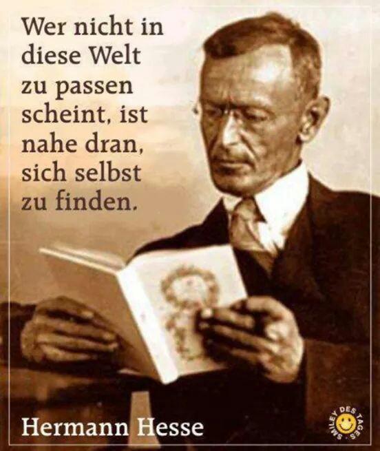 Hesse Zitat Uploaded By Susi On We Heart It