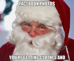 christmas, clothes, and facebook image