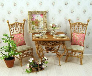 antique, craft, and girly image
