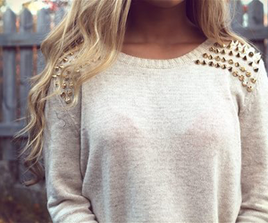 clothes, cute, and sweater image