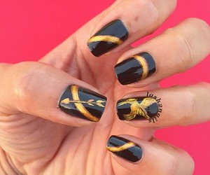 nails and the hunger games image