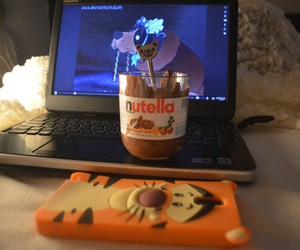 nutella, فلم, and مساء image