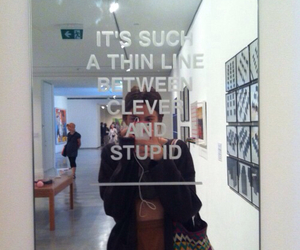quotes, mirror, and stupid image