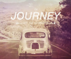 journey, quotes, and car image