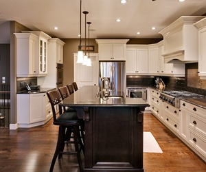 kitchen, luxury, and glamour image