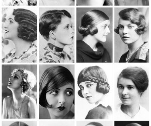 vintage and hair image
