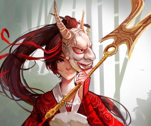 league of legends and akali image