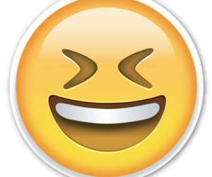 laugh, smile, and emojis image