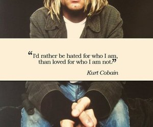 kurt cobain, quotes, and nirvana image