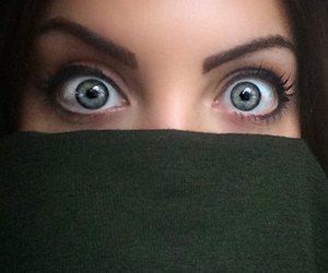 eyes, green, and elizabeth gillies image
