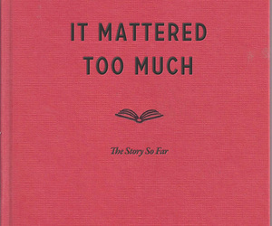 book, too much, and life image