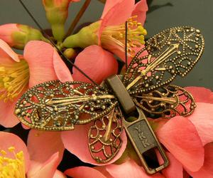 brooch, jewelry, and steampunk image