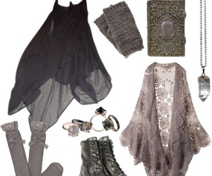 clothes, fashion, and witch image