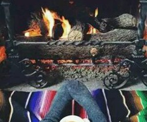 coffee, fire, and love image