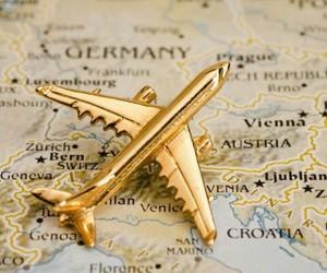 austria, geneva, and plane image