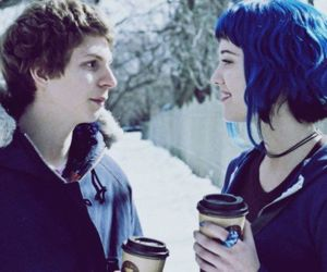 movie, scott pilgrim, and couple image