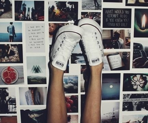 converse, photo, and shoes image