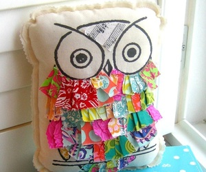 colors, diy, and owl image