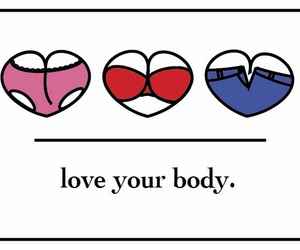 body, quote, and love image