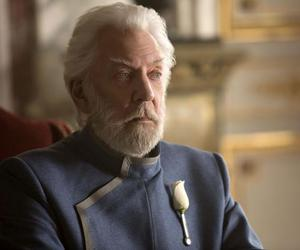 mockingjay, president snow, and the hunger games image