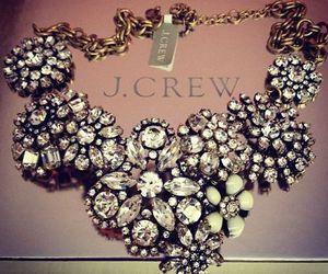 necklace, diamond, and J.Crew image