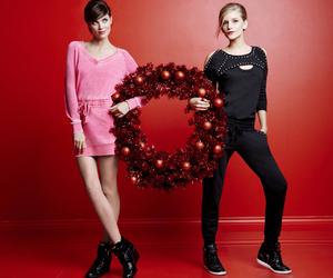 christmas, fashion, and girls image