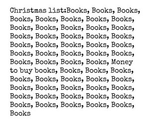books, christmas, and only image