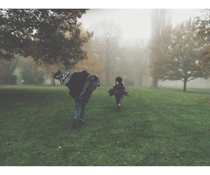 autumn, indie, and run image