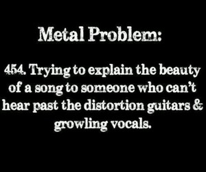 metal, music, and problem image
