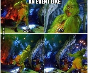 funny, laugh, and grinch image