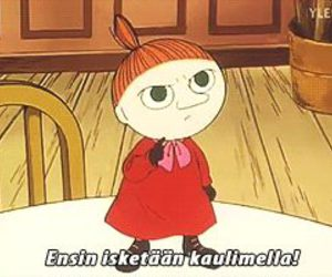 funny, moomins, and quotes image