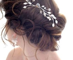 beauty, hair, and bride image