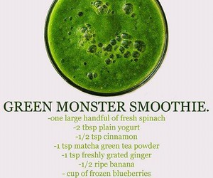 healthy, smoothie, and green image