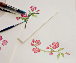 branch, brush, and floral image