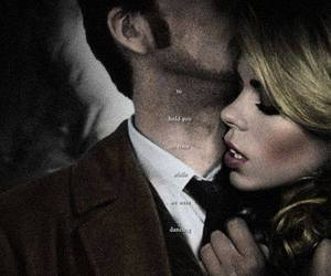 couple, doctor who, and rose tyler image