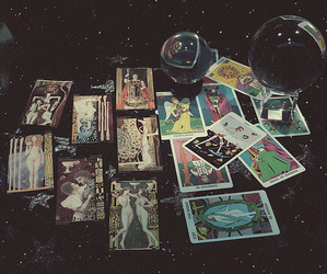 tarot and magic image